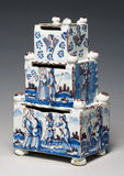 Money Box, Delftware