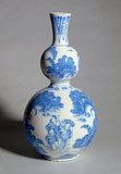 Imari Double Gourd Vase