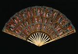 The Messel Mica Folding Fan