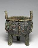 Ting Cauldron, Chinese, Shang-yin Dynasty