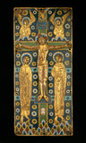 Limoges Crucifixion with the Virgin, St John and angels
