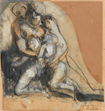 Charity, by Rodin