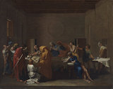 Extreme Unction, by Nicolas Poussin