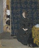 Femme Assise: Tasse de Cafe, by Vuillard
