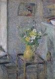 Pot de gres et fleurs, by Vuillard