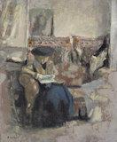 La liseuse au coussin, by Vuillard
