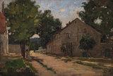 Route de Port-Marly, by Pissarro