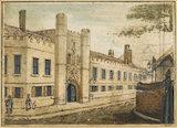 Christ's College Cambridge, by W. Mason