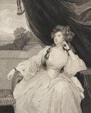 Contemplation, Elizabeth Stanhope, by Caroline Watson