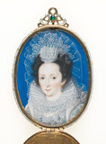 Elizabeth, Countess of Rutland, school of Isaac Oliver