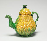 Staffordshire pineapple teapot