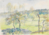 Spring, by Camille Pissarro