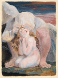 Frontispiece: The Book of Ahania, by William Blake
