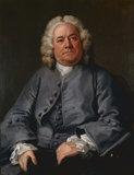 George Arnold, by Hogarth