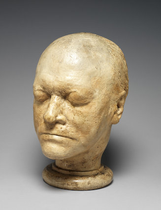 Life Mask of William Blake, by James S. De Ville