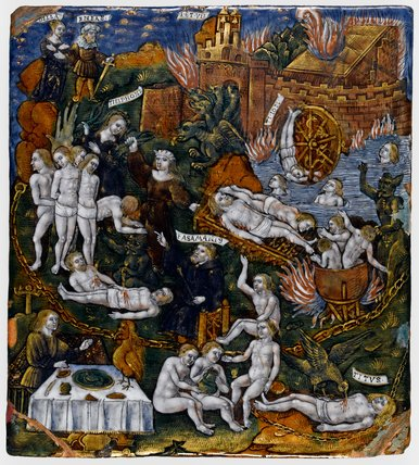 Limoges enamel, Aeneas and the Sybil in the Underworld