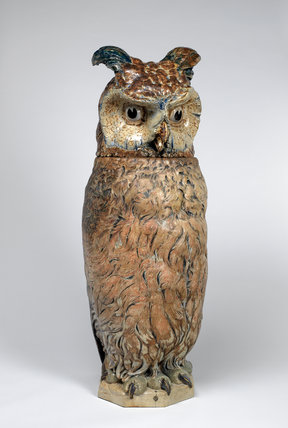 Owl Punch Bowl By The Martin Brothers By Martin Brothers