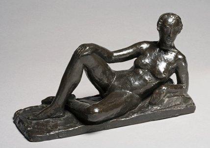 Reclining Female Nude, by Charles Despiau