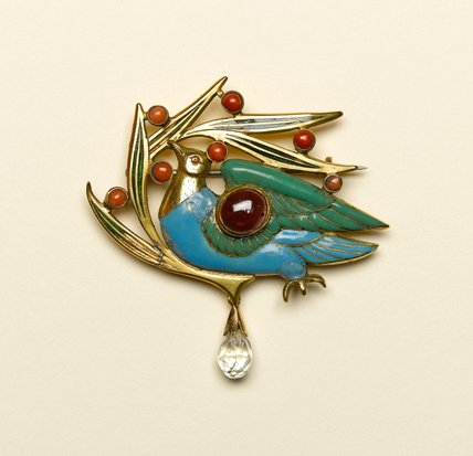 The Blue Bird Brooch, by Charles de Sousy Ricketts