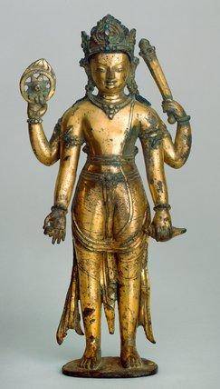 Figure of Vishnu, Nepalese School