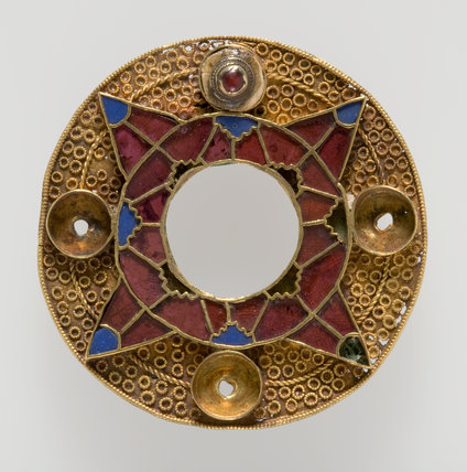 Anglo-Saxon gold bracteate, found in Kent