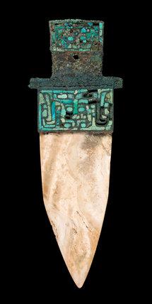 Chinese jade dagger