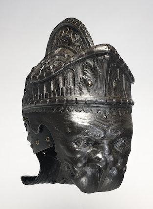 Parade burgonet helmet, by Filippo Negroli