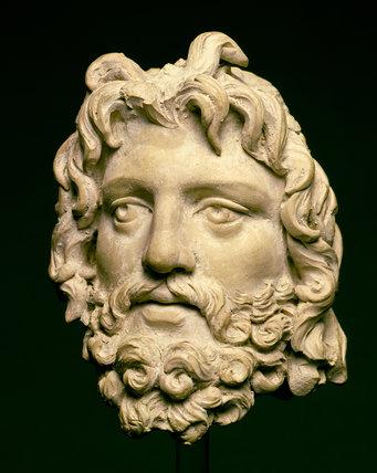 Head of Zeus, from Civita Lavinia