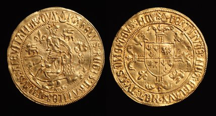 Fort d'or coin of Charles of France