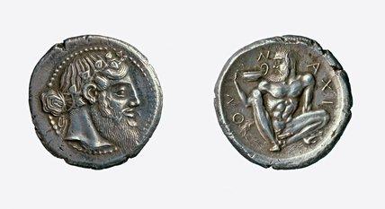 Four drachma piece from Naxos