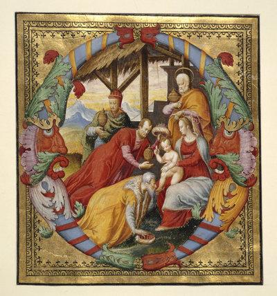 Adoration of the Magi, by Giovan Battista da Udine