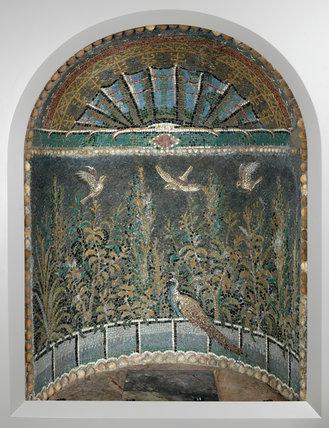 Mosaic niche from Baiae, Campania