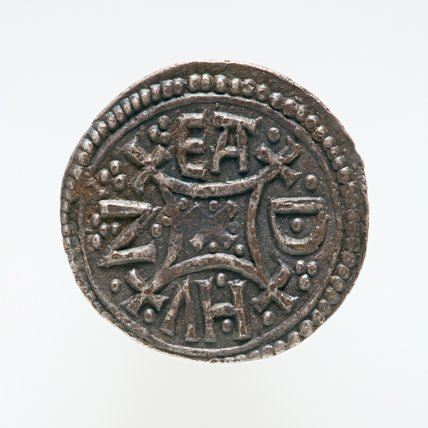 Silver penny from the Kingdom of Offa of Mercia