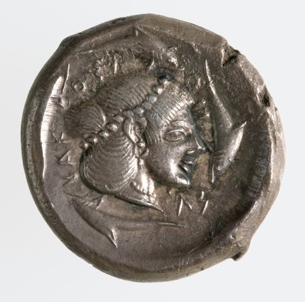 Greek tetradrachm from Syracuse