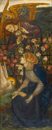 The Annunciation, by Rossetti