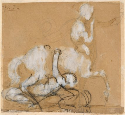 Achilles and Cheiron, by Rodin