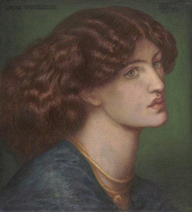 Bruna Brunelleschi, by Rossetti