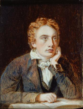 John Keats, by Joseph Severn