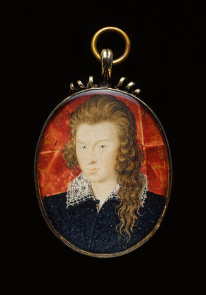 Henry Wriothesley, 3rd Earl of Southampton, by Nicholas Hilliard