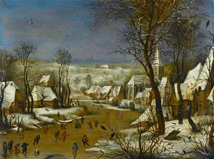 The bird-trap, after Pieter Bruegel the Elder