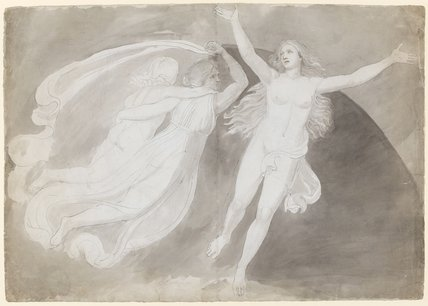 The Ascension of a Soul, by John Flaxman