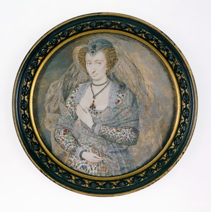 Unknown Lady, by Isaac Oliver I