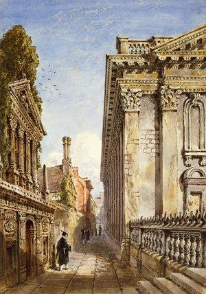 Cambridge, Senate House Passage, by Joseph Murray Ince