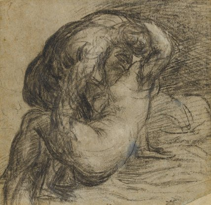 A couple in embrace, by Titian