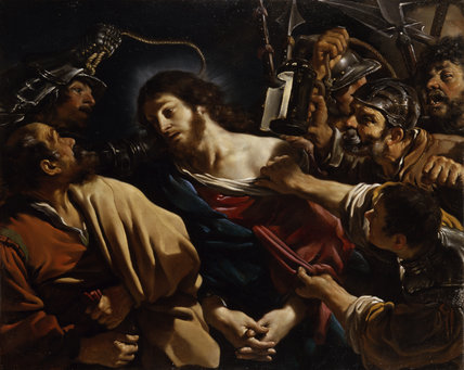The Betrayal of Christ, by Guercino