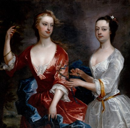Martha and Theresa Blount, after Charles Jervas