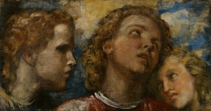Three Heads, by George Frederick Watts