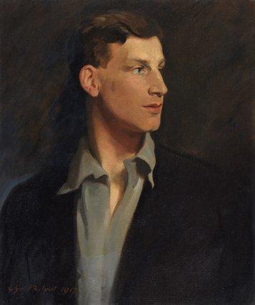 Siegfried Sassoon, by Glyn Warren Philpot