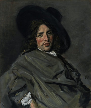 Portrait of an unknown man, by Frans Hals