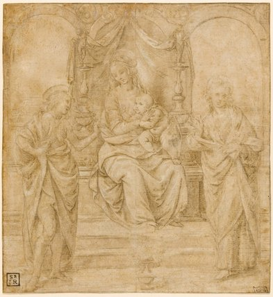 Study for the Virgin and Child, by Lorenzo di Credi